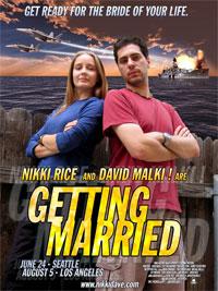 Malki! wedding action poster!